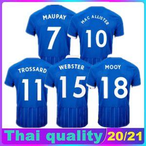 호브 알비온 20 21 덩크 축구 유니폼 벤자민 웹스터 TROSSARD MAUPAY 맥 Allister 2020 2021 camiseta 드 펏볼 축구 셔츠 태국