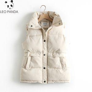 2020 Women's Vest Parka Autumn Winter Coat Women Warm Down Cotton Sleeveless Jacket Puffer Chalecos Para Mujer