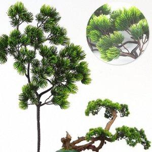 Yapay plastik Pinaster Cypress Noel düşmek Çam ağacı Dallar yeşillik çiçek aranjmanı yapraklar çelenk yaprak yc9y # dekorasyonlar