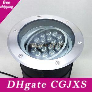 2pc Fanlive réglable Dimmable 18W 24W 250mm AC85 -265v IP68 LED souterrain Lampe Creusée Buried Éclairage extérieur