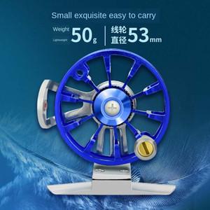 tfsp4 Jin Biao Re promozione Modified pesca tutto-metallo puleggia anteriore con ruota lenza cooperazione levigatura asta ruota rimontare mano R