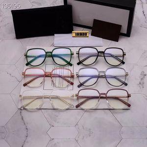 6color nuove donne signora Gu tendenza poligono anti-azzurro cellulare vetri specchio piano ultra leggero Tr telaio materiale 8910