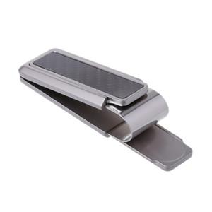 Bolsas de equipaje Nuevos 2018 hombres de la cartera de negocios clips de acero inoxidable de fibra de carbono del clip del dinero del dinero