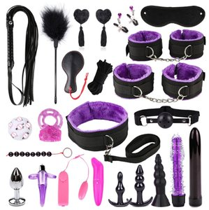 BDSM Bondage Set Bed Restraint Kit System Roleplay Game Nylon