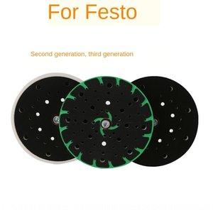 Festo Pad tête de broyeur à sec de polissage LEX150 bac machine à tête de broyage à sec du papier de verre pad disque de meulage du disque adhésif