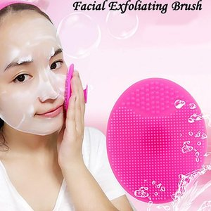 Facial massage whitening silicone face Silicone face washing beauty baby shampoo cleaning Silica gel cleaning brush bath brush