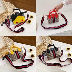 Kinder-Designer-Handtaschen Tassel Mädchen Mini Taschen Solide Geldbeutel Kleinkind Handtasche Mode-Schultertasche Kinder PU-Leder-Mappe Totes Hot YP67 # 607