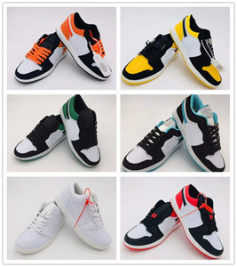 Classic 1 OG Dunk Shoes Sneakers For Men Women Low Cut Casual Sports Shoes Brand Trainers Fashion 1s Men Women Basketball Shoes 36-44