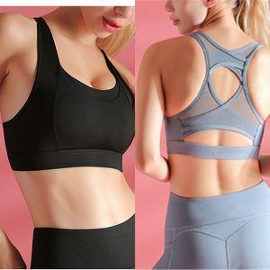Grenadine Yoga Respirant sport travail Bras de remise en forme sur Tops Compression Gym Courir les femmes sous-vêtements soutien-gorge Vêtements de sport Caraco Soutien-gorge