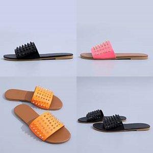 De mujeres Dener piel del deslizador de las chancletas de Dener piel niñas niños Zapatillas Fasion Dener mujeres Soes O Yea mujeres Soes sandalias # 127