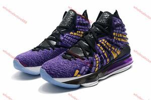 xshfbcl 2020 High Quality Kids LeBron 17 Bron 2k Basketball Shoes Sales James 17 Men Women Sneakers store free shipping Size36-46