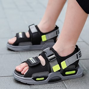 children's shoes sandals men's and women's 2020 new black sandals Korean style thick bottom anti-skid Jinjiang children's shoes