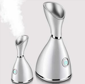 NANO Derin Temizleme Yüz Temizleyici Yüz Sıcak Steamer Yüz Püskürtme Güzellik Yüz Buharlama Cihaz Yüz Steamer Makine DAMLA GEMİ