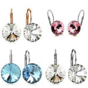 Crystal Earrings Diamond Alloy Jewelries Fashion Crystal Drop Earrings Women Gifts Jewelries Beautiful Crystal Ear Rings Jewelry DHF580