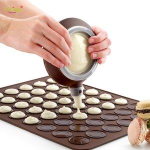 Delidge 7pc Cake Decorating Tools Set Nozzle Pot + Cream Tube+ Pastry Baking Mat Baking Tool For Cake Silicone Diy Macaron Mold