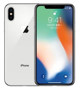 Refurbished Original iPhone X no face id Unlocked Cell Phone Hexa Core 64GB 256GB iOS 13 5.8 inch 12MP 4G Lte