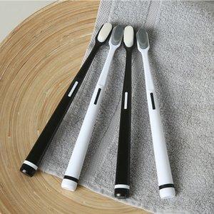 Наивысшее Зубная щетка мягкая Зубные щетки Ручка Non Скольжение чувствительных зубов Clean налетом чистки полости рта Инструменты 3 5yxa D2