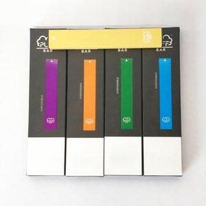 5% Puf Bar Tek Kullanımlık Vape Kapasiteli Vape Kartuşları Puffar 280 mAh Pil Tek Kullanımlık Şarj Edilebilir Kiti Vapes Ekran Kutusu 25 Renkler Puf