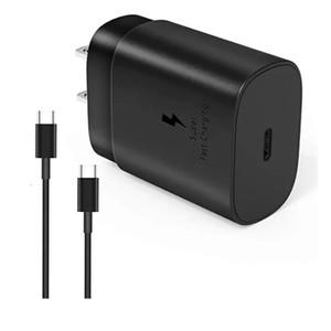 Введите зарядное устройство C для Samsung Galaxy Note 10 Типа C 18W 25W PD зарядного устройства