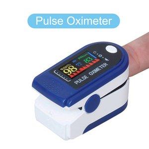 Fingertip Oximeter Adult Startseite Pulse Fingertip Oximeter-Display-Bildschirm Blut-Sauerstoff-Fingertip LCD Pulsoximeter PR-Wert schnell DHL Versand