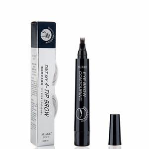 3D micro-blade eyebrow pencil, 4 colors, 4 prongs, fine eyebrow sketch, waterproof pen, eyebrow pencil, makeup TSLM2