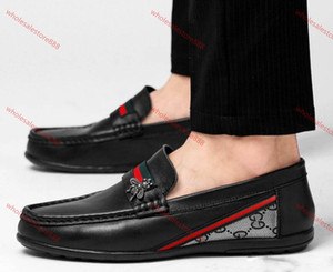 xshfbcl 2020 New style Men leather shoes lusso handmade loafers slip on italian progettista male dress shoe fashion Party Wedding Shoes