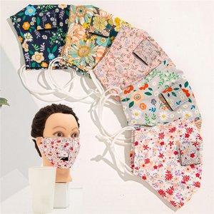 음료 페이스 마스크 5 개 스타일 성인 세척 방진 밀 짚이 재사용 보호 Earloop 얼굴 커버 도매 AHD289 마스크 마시는