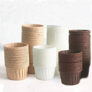 Metal Oil Proof Cup Safety Healthy Cakecups High Temperature Resistance High Temperature Bakeware Cakecup Muti Color 0 14tm C2