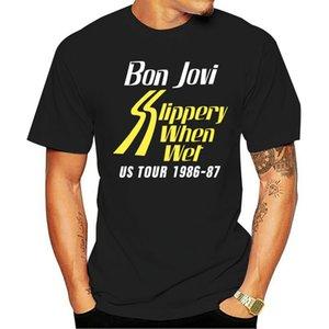 Bon Jovi Erkek GGB Tur Tişörtlü Siyah