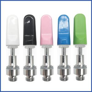 Cartridge Pyrexglas Cartridges Behälter CE3 Thick Vaporizer G5 mini Vapor neuen Entwurfs-510 Keramik-Atomizer Bunte Keramik Tropfspitze