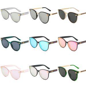 High Quality Luxury WOMEN Retro Big Frame Brand Designer Vintage Eyewear Sun Glasses For Women Shade Fashion UV Sunglasses With#203