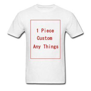 Özel Erkekler Tshirts 1 Adet Tasarım Erkek Tees İlan Firma 3D Baskı% 100 Pamuk tişörtleri Logo Letter Hediye Siyah Beyaz T Shirts