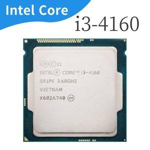 I3 4160 3.6GHz I3-4160 CPU LGA 1150 54W 22 nanómetros de doble núcleo funcionando correctamente procesador de escritorio Intel Core 100%