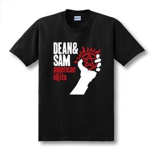 Sexemara New 2020 Fitness Supernatural Dean&Sam American Idjits Green Day Sitcoms Couple Hot Selling Man Men Male T-Shirt
