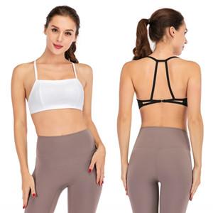 Nuovo back-abbellire danza bellezza Sport reggiseno di yoga antiurto traspirante umidità di assorbimento delle donne gilet sport danza formazione reggiseno