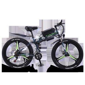Nouvelle norme nationale Batterie au lithium vélo 26 pouces 21 vitesses Longue Endurance Puissance VTT 36V électrique vélo pliant