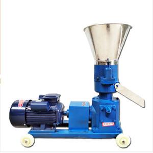 220V / 380V Moulin à pellets multi-fonction Flux alimentaire Pellelette Faire de la machine Granulateur d'aliments pour animaux ménagers 60kg / h-1200kg / h
