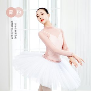 New Latin Dance Adult Sexy Tops Long Sleeve Training Performance Clothes Profession Practice BodySuit Stage Competition Clothing