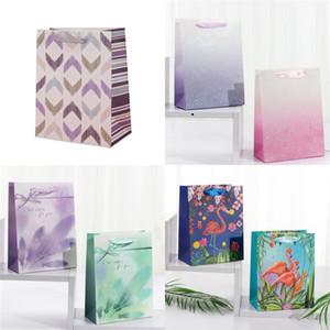 Monnaie Sac Paillettes Emballage Sacs Fleur Papier cadeau Sac de fête d'anniversaire de mariage fournitures Livraison gratuite 1 8mh E2