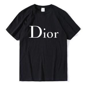 2020 nuevos Mens forman DIOR las camisetas del diseñador del invierno del otoño de los hombres de la marca Casual isla suéter de la ropa S-2XL