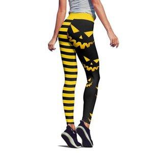 3D Print Halloween Sexy Pants Pumpkin Women Push Up Seamless Elastic High Waist Workout Sport Leggings Mujer Fitness Gym Leggins 0927