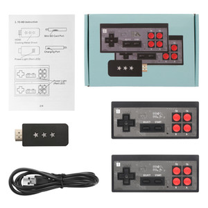 U-GAME Y2 HD Retro Game Console Support 2 Players HDMI Show 600-in-1 Classic Video Games Handheld Infrared Retro Wireless Gamepad Controller