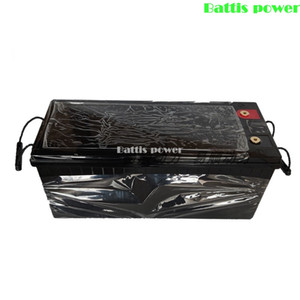 Waterproof Lifepo4 12V 200AH lithium battery BMS 4S 12.8v for inverter EV Fishing boat skateboard ATV +10A Charger
