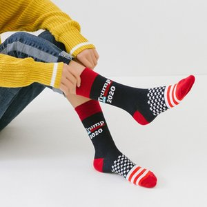 Stitching Color America National Flag Printed Socks 2020 Soft Men Cotton Sock Novelty Personality Chaussette Homme