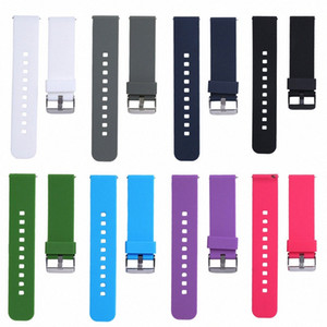 Soft WatchBand Silicone 22mm Watch Band Strap For Samsung Galaxy Gear S3 Classic SM R770 S3 Frontier SM R760 SM R765 Smart Watch Watch Yn0g#