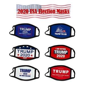 Máscara de EE.UU. Presidente Elección Trump algodón de la cara impedir que las mascarillas América grande otra vez Cosplay Biden partido de la cara del polvo anti contaminación boca cubierta FY9008