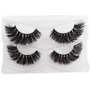 YSDO 3D Mink False EyeLashes Natural Hair Hair Long Mink EyeLashe Dramatic Fluffy Lash crosscriss MakeupMink Lashes Thick Lash