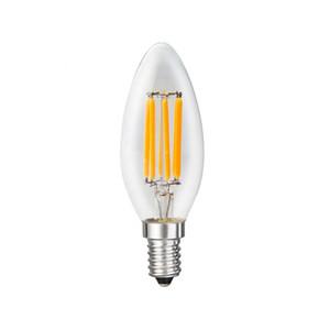 Six bulbes de filament ensemble pour vendre de petites vis E14110-130 - V TIVRE DE TIVRE BULBLE BULBLE BULBLE 6 W Bulb 2700 K