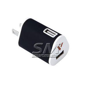 2 .1a 1a viagem adaptador plug EUA Ac Power Adapter Porta 2 cgjxsDual LED USB carregador de parede completa 5v