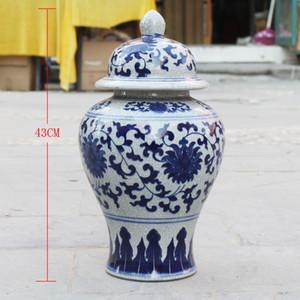 Cinese Riproduzione vaso di zenzero vaso di ceramica antica porcellana tempio vasi decorazione della casa antichi vasi di zenzero chiare